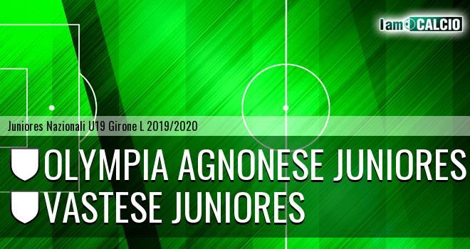 Olympia Agnonese Juniores - Vastese Juniores