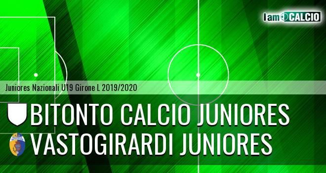 Bitonto Calcio Juniores - Vastogirardi Juniores