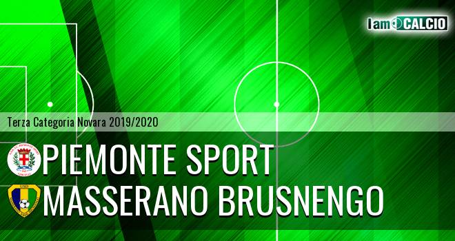 Piemonte Sport - Masserano Brusnengo