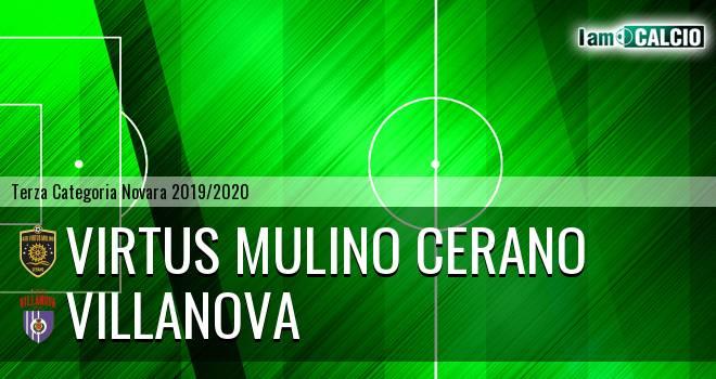 Virtus Mulino Cerano - Villanova