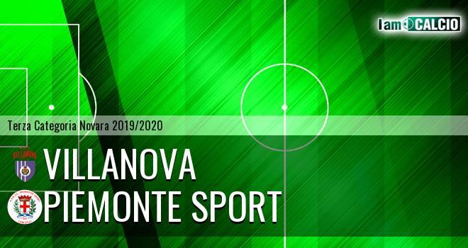 Villanova - Piemonte Sport