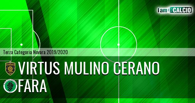Virtus Mulino Cerano - Fara