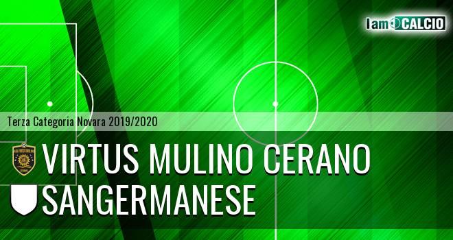 Virtus Mulino Cerano - Sangermanese