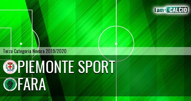 Piemonte Sport - Fara