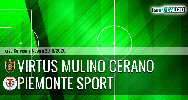 Virtus Mulino Cerano - Piemonte Sport