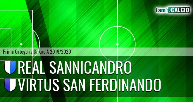 Real Sannicandro - Virtus San Ferdinando