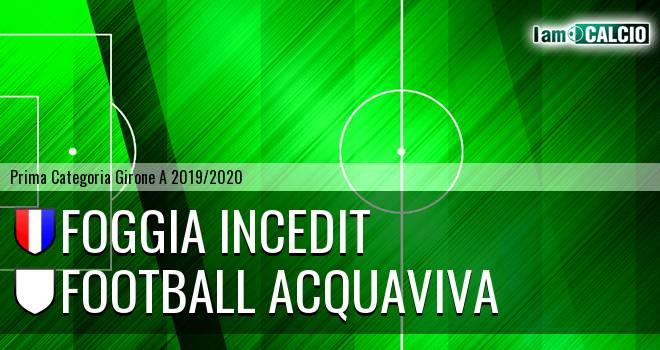Foggia Incedit - Football Acquaviva