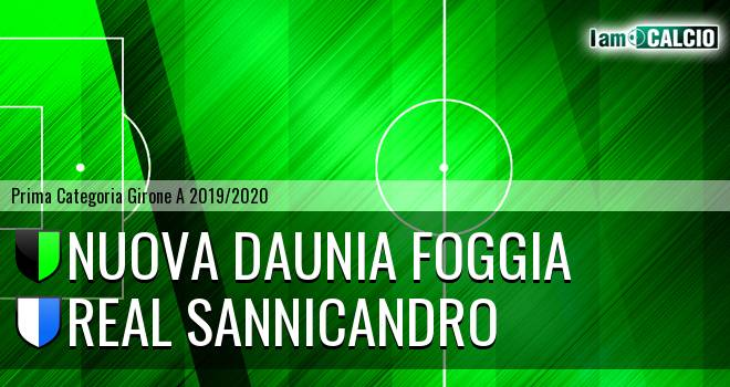 Nuova Daunia Foggia - Real Sannicandro