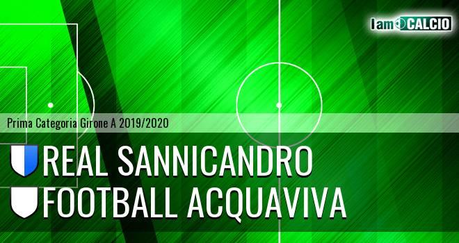 Real Sannicandro - Football Acquaviva