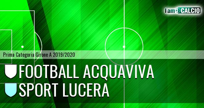 Football Acquaviva - Sport Lucera