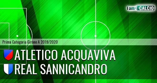 Atletico Acquaviva - Real Sannicandro