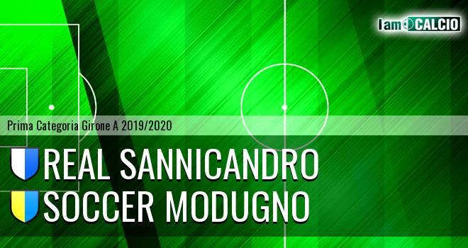 Real Sannicandro - Soccer Modugno
