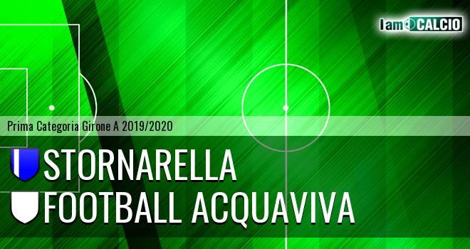 Stornarella - Football Acquaviva