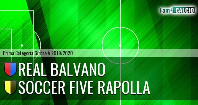 Real Balvano - Rapolla Soccer