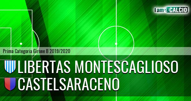 Libertas Montescaglioso - Castelsaraceno