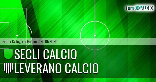 Secli Calcio - Leverano Calcio