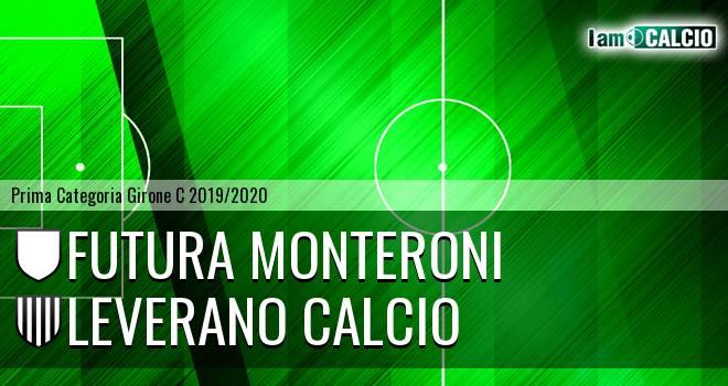 Futura Monteroni - Leverano Calcio