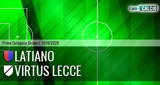 Latiano - Virtus Lecce