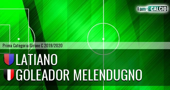 Latiano - Goleador Melendugno