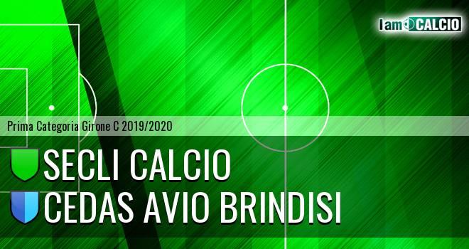 Secli Calcio - Cedas Avio Brindisi