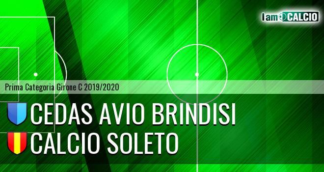 Cedas Avio Brindisi - Calcio Soleto