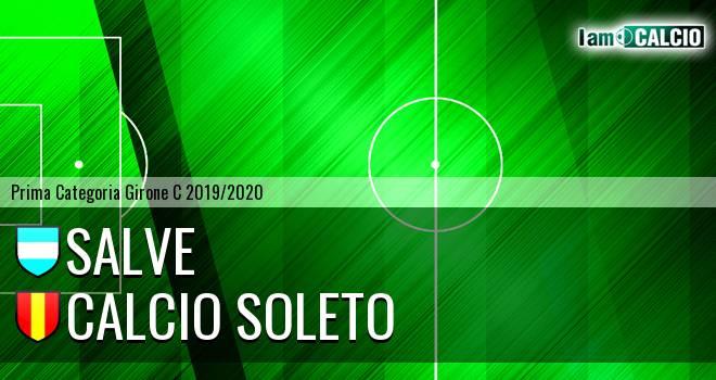 Salve - Calcio Soleto