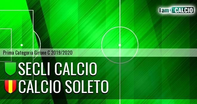 Secli Calcio - Calcio Soleto