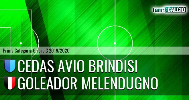 Cedas Avio Brindisi - Goleador Melendugno