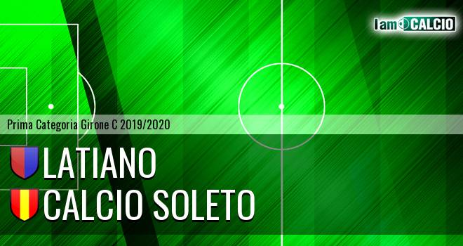 Latiano - Calcio Soleto