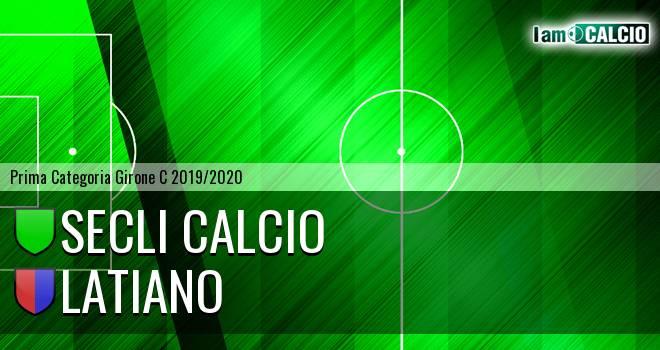Secli Calcio - Latiano