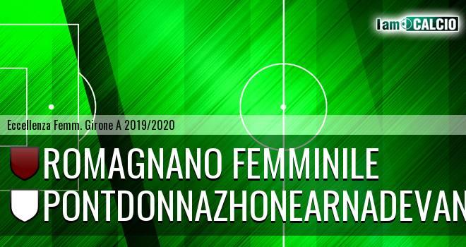 Romagnano Femminile - Pontdonnazhonearnadevanco