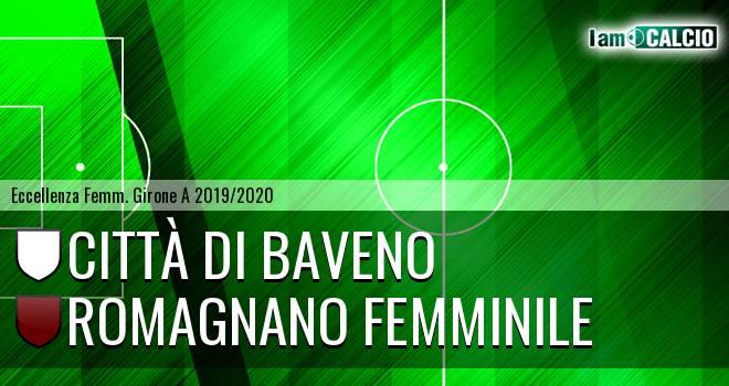 Città di Baveno femminile - Romagnano Femminile