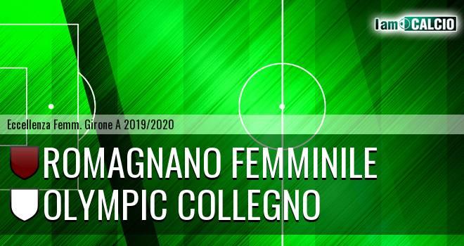 Romagnano Femminile - Olympic Collegno