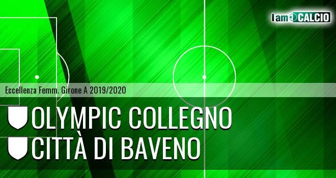 Olympic Collegno - Città di Baveno femminile