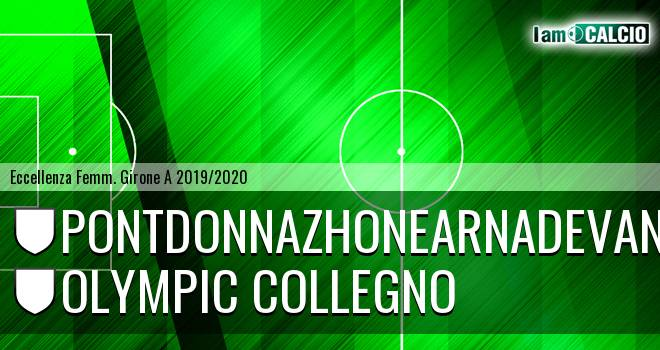 Pontdonnazhonearnadevanco - Olympic Collegno