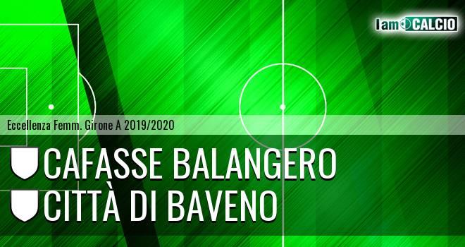 Cafasse Balangero - Città di Baveno femminile