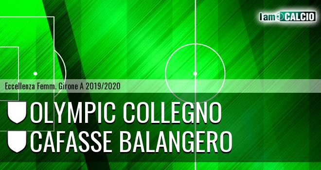 Olympic Collegno - Cafasse Balangero