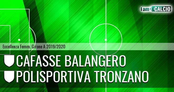 Cafasse Balangero - Polisportiva Tronzano