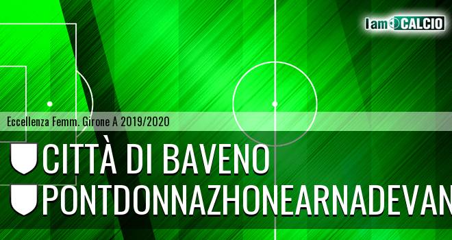 Città di Baveno femminile - Pontdonnazhonearnadevanco