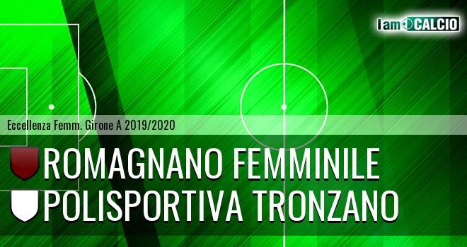 Romagnano Femminile - Polisportiva Tronzano