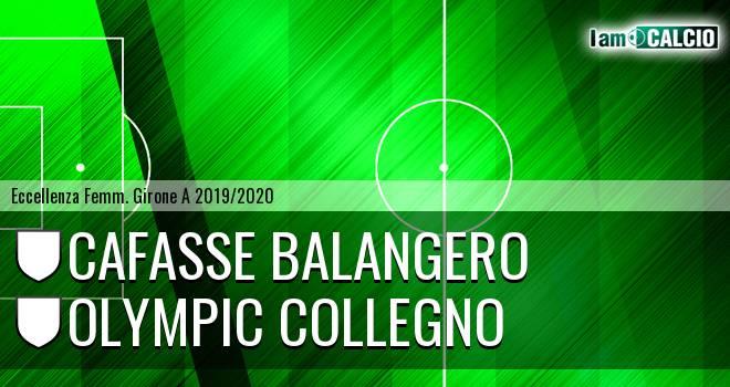 Cafasse Balangero - Olympic Collegno