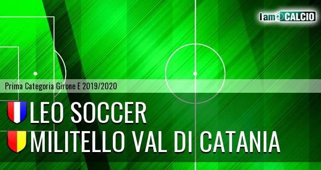 Leo Soccer - Militello Val di Catania