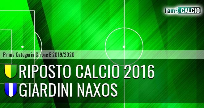 Riposto Calcio 2016 - Giardini Naxos