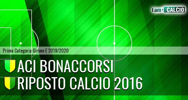 Aci Bonaccorsi - Riposto Calcio 2016