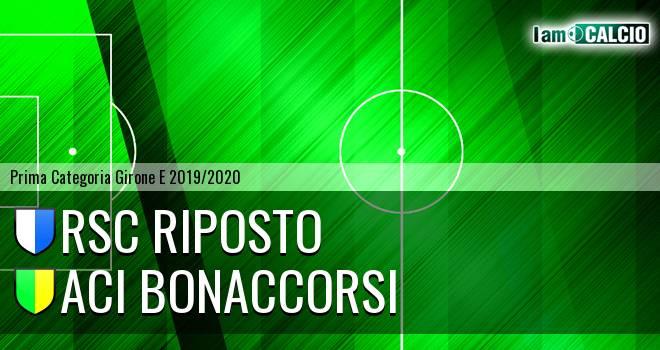 RSC Riposto - Aci Bonaccorsi
