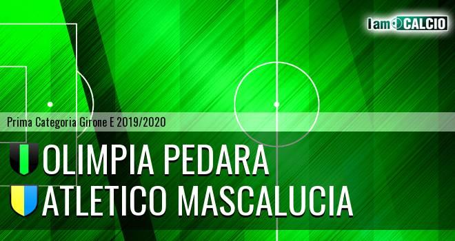 Olimpia Pedara - Atletico Mascalucia
