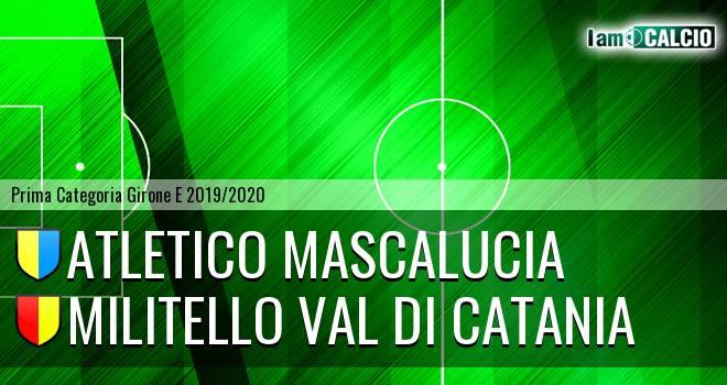 Atletico Mascalucia - Militello Val di Catania