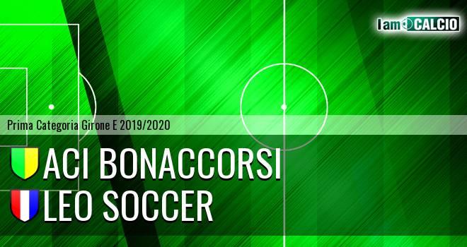 Aci Bonaccorsi - Leo Soccer