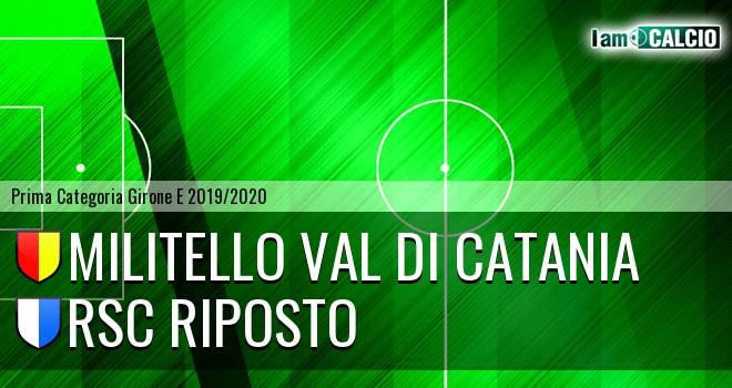 Militello Val di Catania - RSC Riposto
