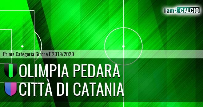 Olimpia Pedara - Città di Catania